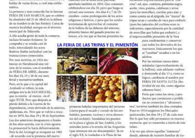 La Feria de las tripas y el pimentón