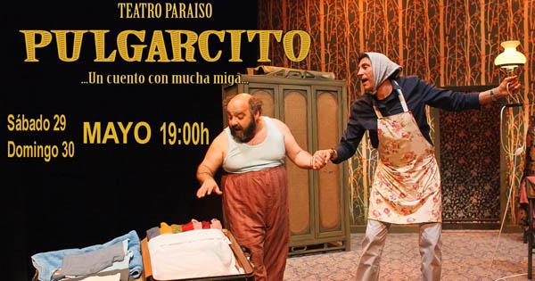 Este sábado y el domingo te esperan Teatro Paraiso de Vitoria con «Pulgarcito» en TaKtá